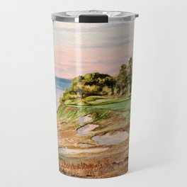 Whistling Straits Golf Course 17th hole Travel Mug