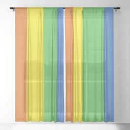 Pride Sheer Curtain