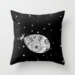 Whale's dreams Throw Pillow