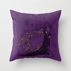Something Wicked this way Comes... Throw Pillow