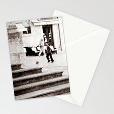 Soccer in the Square Stationery Cards