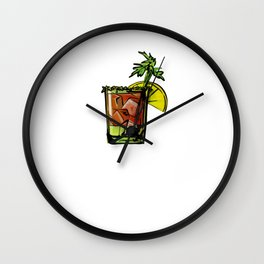 Bloody Mary God Bless Bloodies Wall Clock