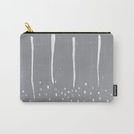 Rain and Soil_Grayscale Carry-All Pouch