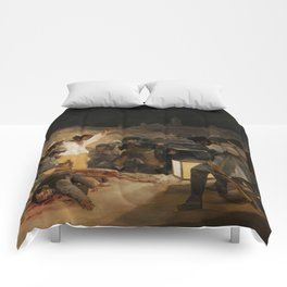 The Third of May by Francisco Goya Comforters