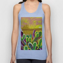 Monument Valley Unisex Tank Top
