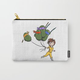 TMNT Balloons! Carry-All Pouch