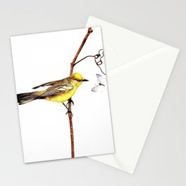 Neltje Blanchan - Bird Neighbours (1903) - Blue-Winged Yellow Warbler Stationery Cards