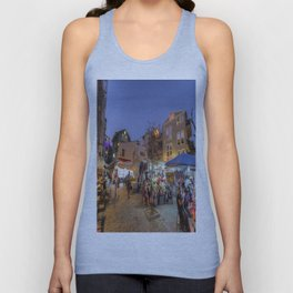 Istanbul At Night Unisex Tank Top