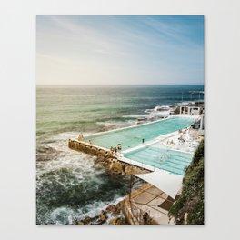 Bondi Icebergs Club | Bondi Beach Sydney Australia Ocean Coastal Travel Photography Canvas Print