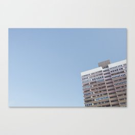 on top of pastels Canvas Print