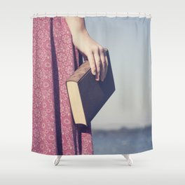 The Book Shower Curtain