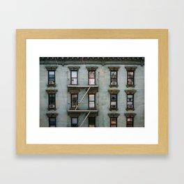 The Best Green Framed Art Print
