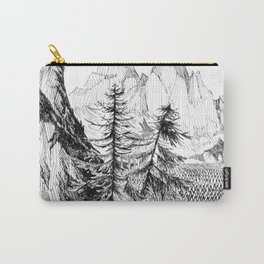 Two pines Carry-All Pouch