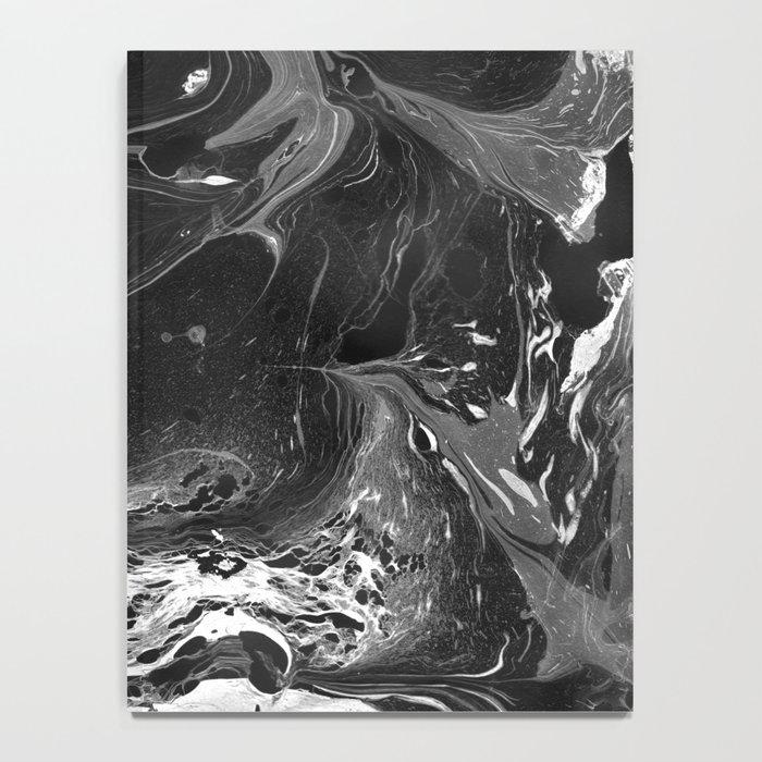 // MARBLED BLACK // Notebook