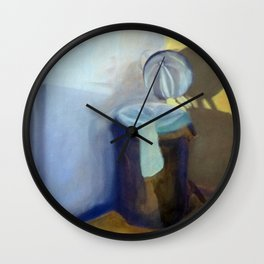 Portrait of a Trashcan Wall Clock