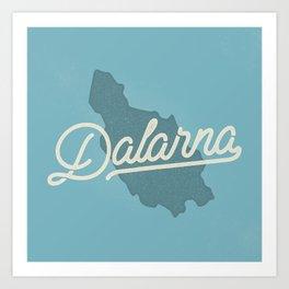 Dalarna Art Print