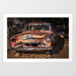 Desoto Fireflite Sportsman  Art Print