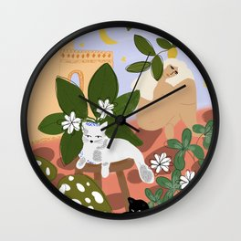 Summer in Paradise Wall Clock