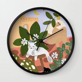 Summer in Paradise Wall Clock