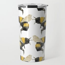 Dancing Bumblebees Travel Mug