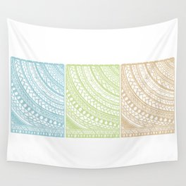 Weaved Elements I Wall Tapestry
