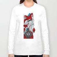 joker Long Sleeve T-shirts featuring JOKER by taniavisual