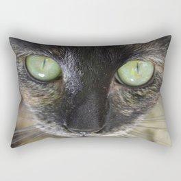 Fluffy, close up Rectangular Pillow