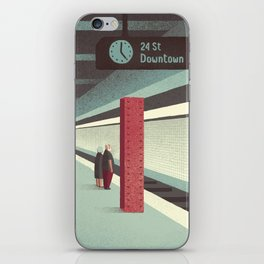 Day Trippers #3 - Waiting iPhone Skin