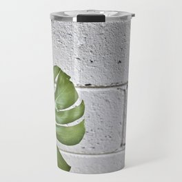 brick monstera Travel Mug
