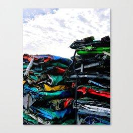 Junkyard Canvas Print