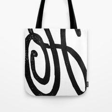Monogrammed Letter H Tote Bag