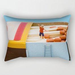 Brincando com fogo.  Rectangular Pillow