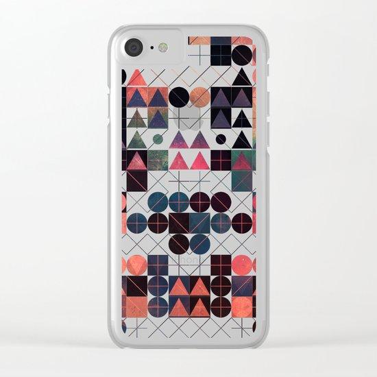 shww thyrww Clear iPhone Case