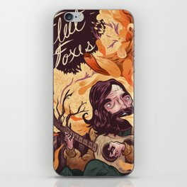 Fleet Foxes Poster iPhone Skin