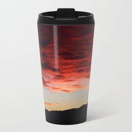 morning mountains Travel Mug