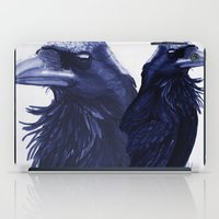 raven iPad Cases featuring .Raven by Isaiah K. Stephens