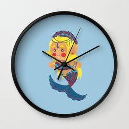 The Mermaid Princess Wall Clock