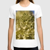 lime T-shirts featuring Lime Hydrangea by IowaShots