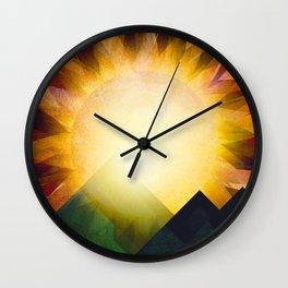 All i need is sunshine Wall Clock