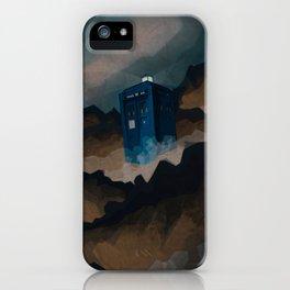 TARDIS in Trenzalore iPhone Case