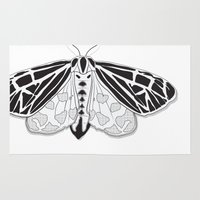 Virgin Tiger Moth Rug