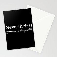 She Persisted Stationery Cards