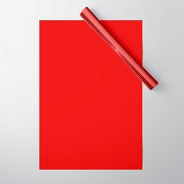 Bright red Wrapping Paper