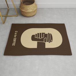 C is for Coffee Rug