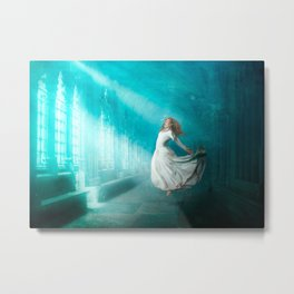 Cathedrals of the Mind Metal Print