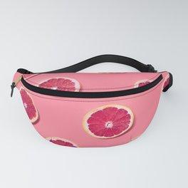 Pink Fruit Slices Fanny Pack