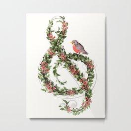 Robin's Song Metal Print