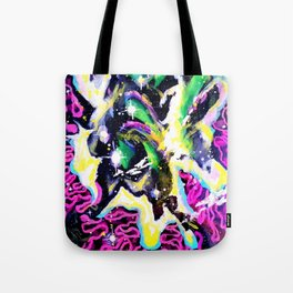 Infinite II Painting by Spin180 Tote Bag