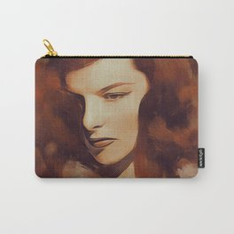 Katharine Hepburn, Hollywood Legend Carry-All Pouch