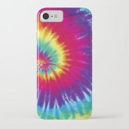 Tie dye hippie iPhone Case